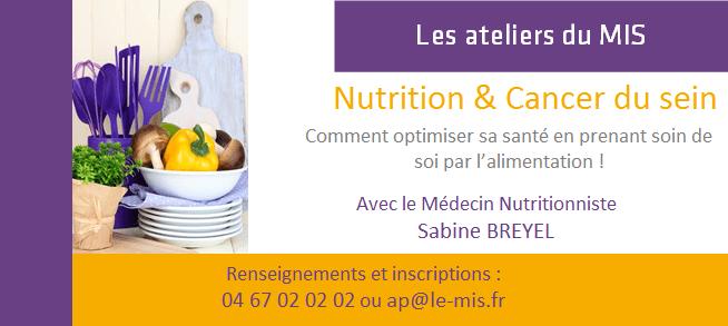 Les ateliers du MIS – Nutrition