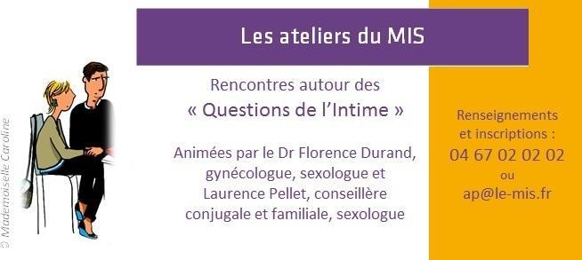 Les ateliers du MIS : Rencontres autour des « Questions de l'Intime »